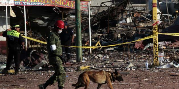 (Photo d'illustration) L'explosion d'un entrepôt de feux d'artifice fait une dizaine de morts et de nombreux blessés au Mexique