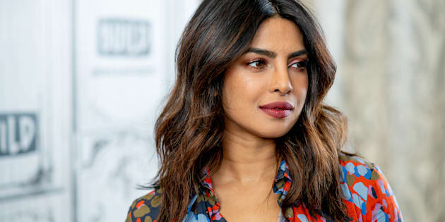 NEW YORK, NY - APRIL 26:  Priyanka Chopra discusses 'Quantico' with the Build Series at Build Studio on April 26, 2018 in New York City.  (Photo by Roy Rochlin/WireImage)