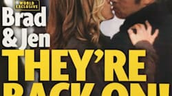 Al parecer la foto de Brad Pitt y Jennifer Aniston juntos es