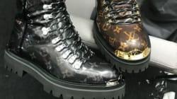 Même Louis Vuitton sort sa paire de chaussures de randonnée... pour la