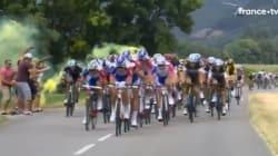 Sortir un fumigène sur les dernières étapes du Tour de France pourra vous coûter une