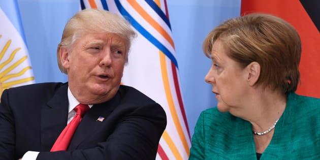 Trump a Davos: