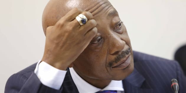 Tom Moyane, suspended commissioner of Sars.