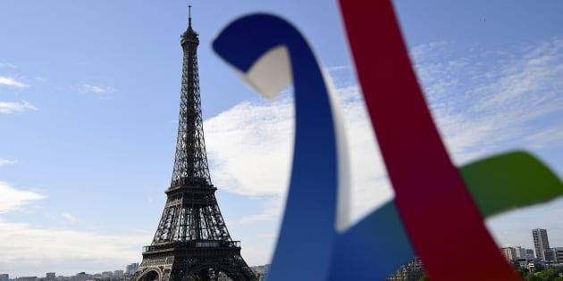 Le logo de la campagne de Paris pour les Jeux olympiques 2024.
