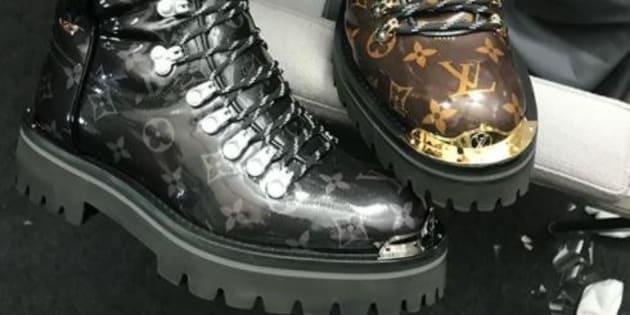 Même Louis Vuitton sort sa paire de chaussures de randonnée... pour la ville.