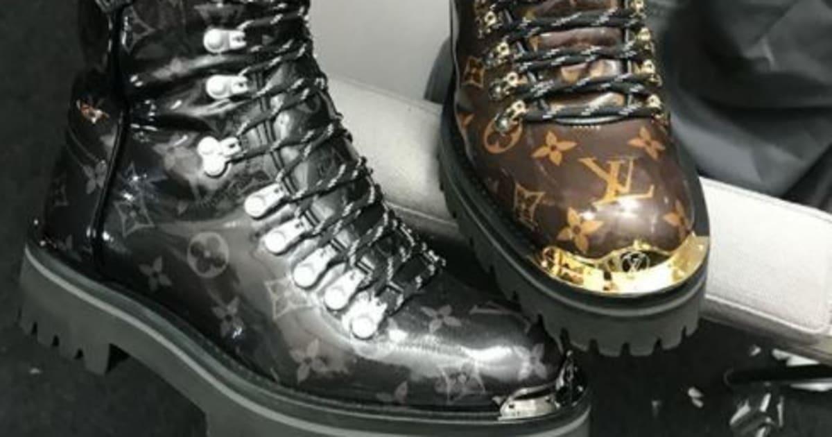 Même Louis Vuitton sort sa paire de chaussures de randonnée... pour la  ville   Le Huffington Post 7ae8b35a9b0
