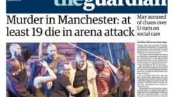 Les unes de la presse britannique après l'attentat de