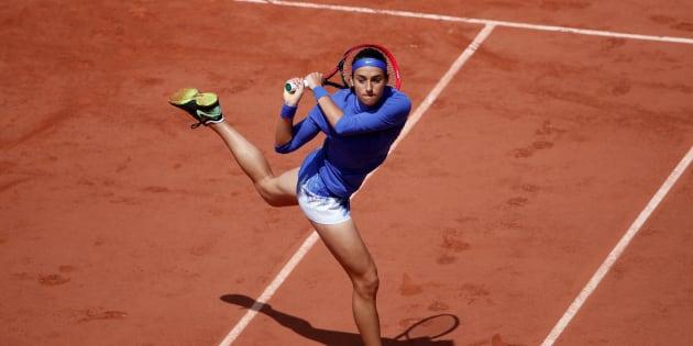 Caroline Garcia a été éliminée en quarts de finale.