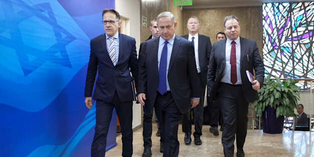 Benjamin Netanyahyu, le 25 décembre 2016.