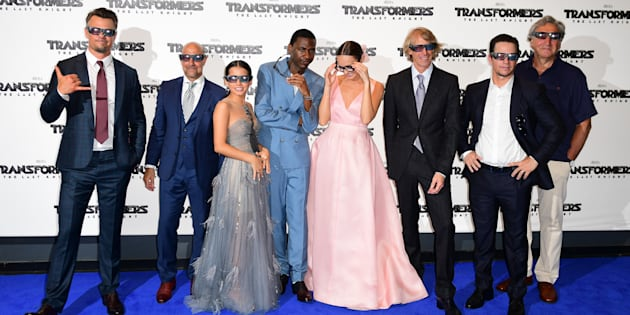 Josh Duhamel, Standley Tucci, Isabela Moner, Jerrod Carmichael, Laura Haddock, Michael Bay, Mark Wahlberg and Jim Carter arriving for Transformers: The Last Knight World Premiere held at Cineworld Leicester Square in London.
