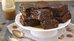 Brownies salati per la vita dolce amara di Livia