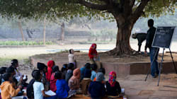 Kids In This MP School Were Forced To Study On The Roads For Three Years Due To Lack Of A