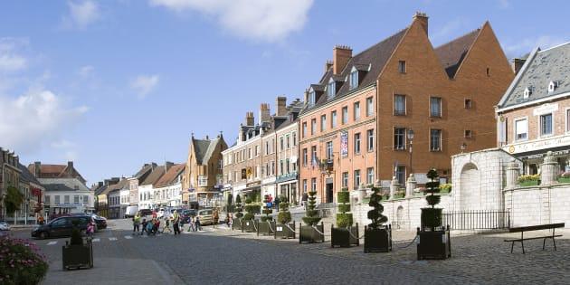 Grand Place de Cassel.