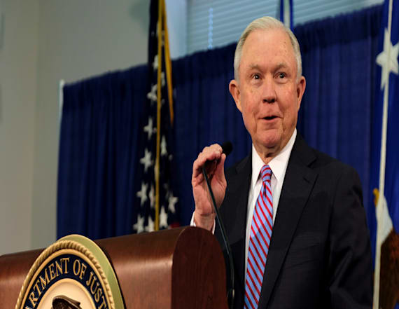 Sessions brushes off Trump criticism