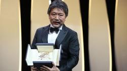 Le Japonais Kore-Eda, récipiendaire de la Palme d'or de