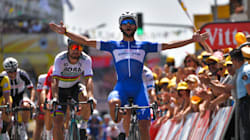 Le Colombien Fernando Gaviria remporte au sprint la première étape du Tour