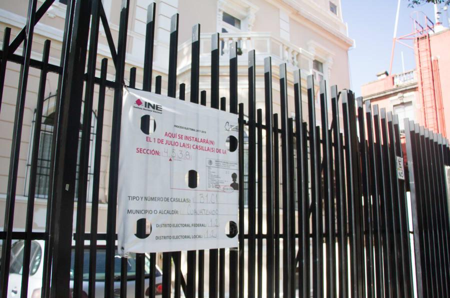 Ya se encuentran ubicadas las casillas para la jornada electoral del 1 de julio.