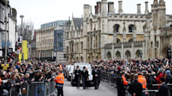 Hundreds Line Streets To Say Goodbye To Stephen