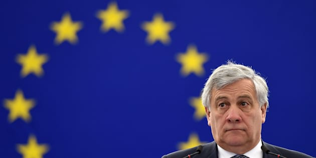 President of the European Parliament Antonio Tajani attends a debate at the European Parliament in Strasbourg, eastern France, on January 16, 2018. / AFP PHOTO / FREDERICK FLORIN        (Photo credit should read FREDERICK FLORIN/AFP/Getty Images)