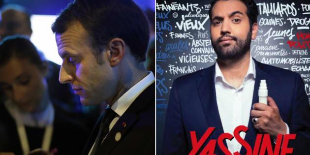 """Après la polémique """"Marianne"""" Yassine Belattar dit avoir reçu un SMS de soutien de Macron"""