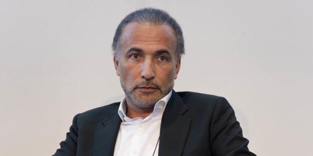 Tariq Ramadan à Genève le 30 avril 2017.