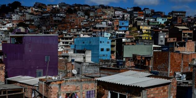Favela Jardim Peri, em São Paulo: Brasil tem uma das piores distribuições de renda do mundo.
