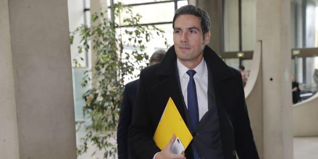 Mathieu Gallet à Créteil le 16 novembre 2017.