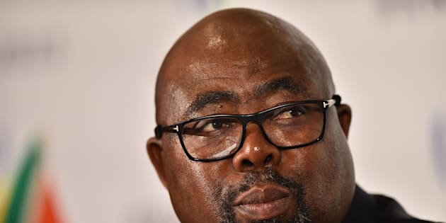 Thulas Nxesi, South Africa's minister of sport and recreation.