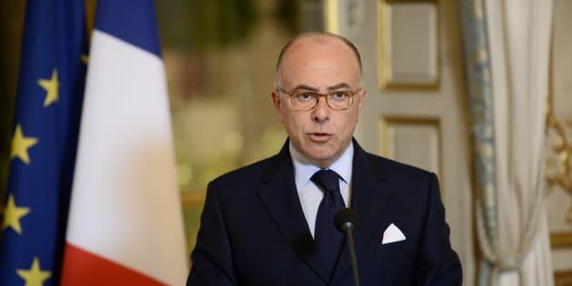 Bernard Cazeneuve à l'Elysée le 26 octobre 2016.