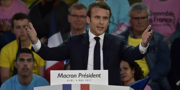 """En Marche! veut """"se constituer comme un média""""."""