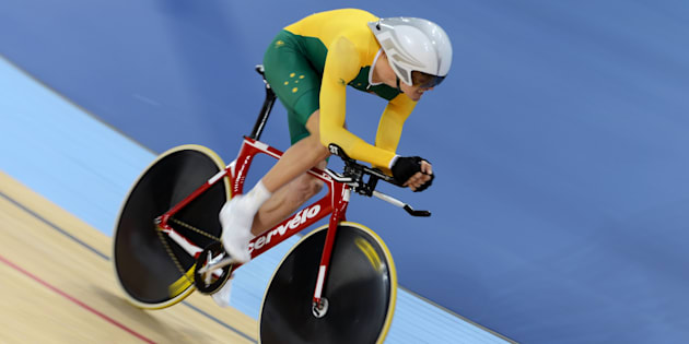 David Nicholas has bagged one of Australia's golds on day 2 of the Paralympics in Rio.