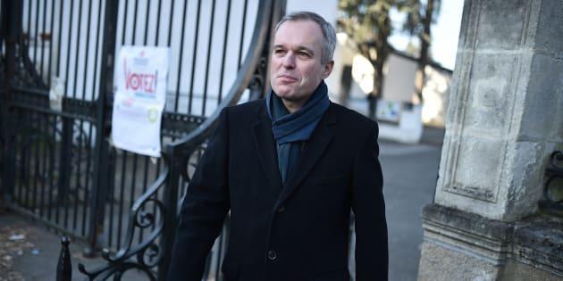 François de Rugy à Nantes le 22 janvier 2017.