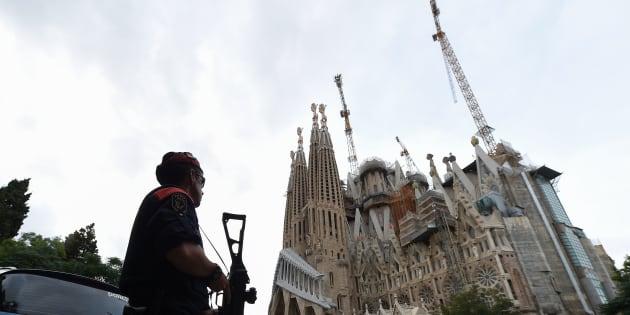 Barcellona, sgomberata Sagrada Familia