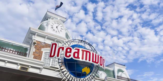 The Facade of Dreamworld Gold Coast entrance building