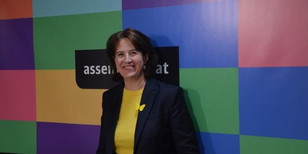 Paluzie, en la sede de la ANC en Barcelona.