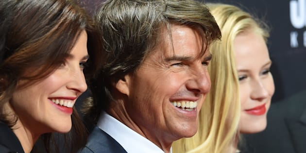 Cobie Smulders says Tom Cruise should exclusively hire moms.