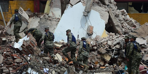 Mexico's most powerful earthquake in a century killed at least 58 people.