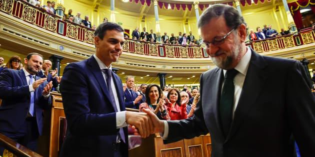 Espagne: Rajoy renversé par la motion de censure de Sánchez, qui le remplace comme premier ministre