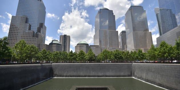 Le mémorial de Ground Zero, à New York.