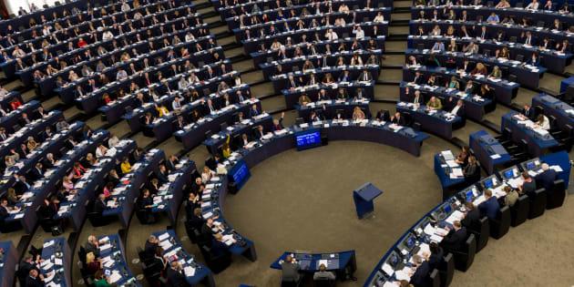 Sesión plenaria del Parlamento Europeo de Estrasburgo, en octubre pasado.