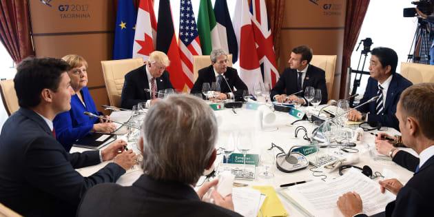 G7: leader firmano dichiarazione contro terrorismo