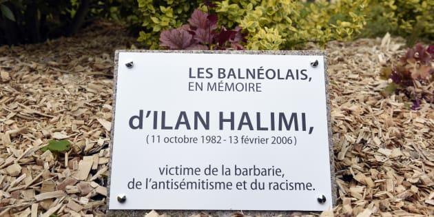 La stèle en hommange à Ilan Halimi profanée
