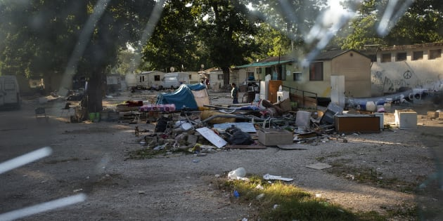 Il campo rom Camping River