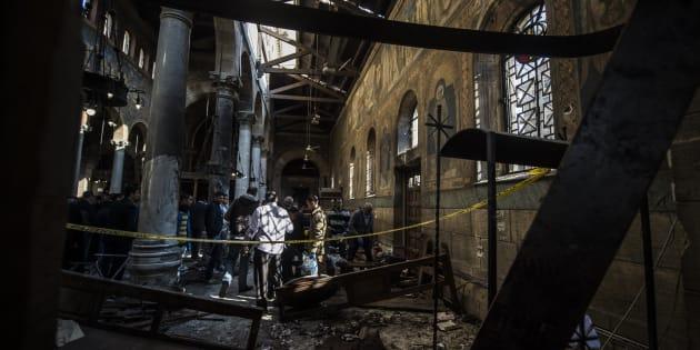 Daech revendique l'attentat dans une église du Caire