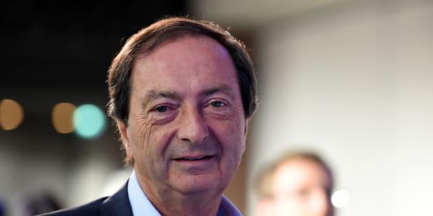 Michel-Edouard Leclerc à Paris le 4 octobre 2017.