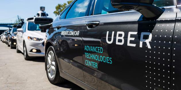 Les voitures autonomes d'Uber lâchées et critiqué par tous