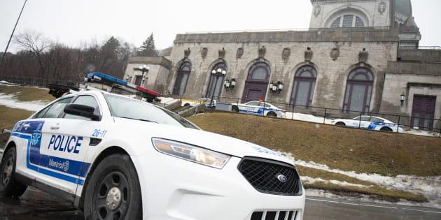 Le prêtre de l'oratoire Saint-Joseph Claude Grou a été poignardé vendredi.