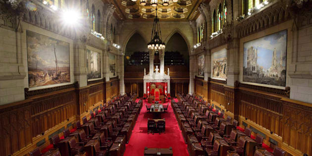 The Senate is pictured on Parliament Hill in Ottawa on Nov. 13, 2018.