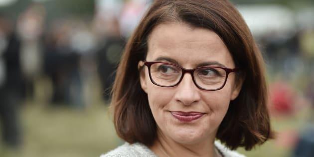 Cécile Duflot près de Nantes le 8 octobre 2016.