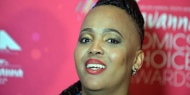 South African comedian Tumi Morake.